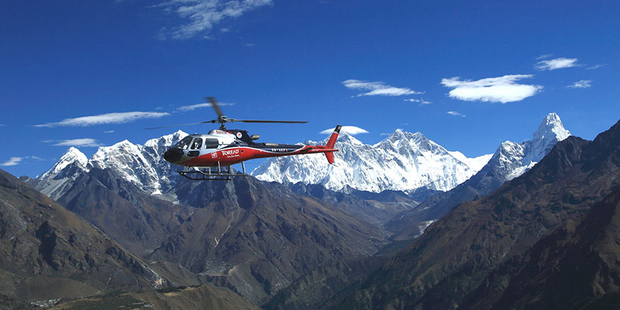 Royal Everest Trek & Heli Tour